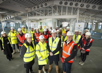 Kilnwood Vale Topping Out Ceremony